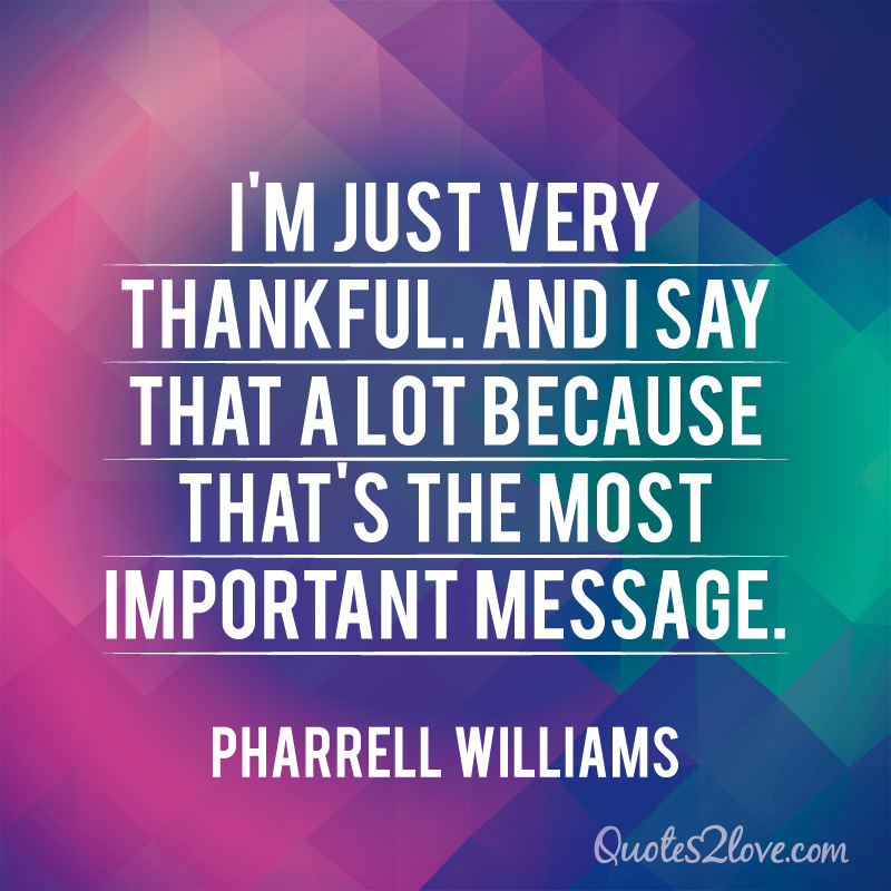 5 REASONS TO CLAP ALONG WITH PHARRELL WILLIAMS – quotes2love