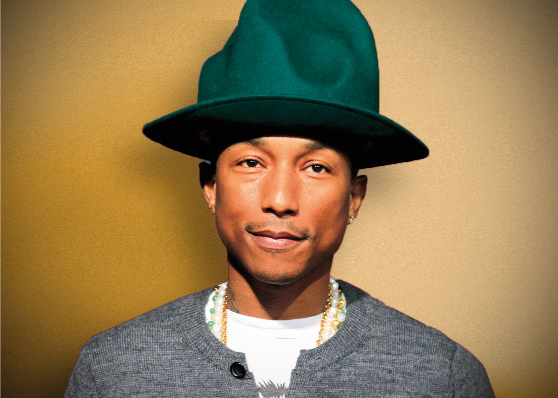 Pin pharrell williams shirtless showing tattoos do it on for Pharrell neck tattoo