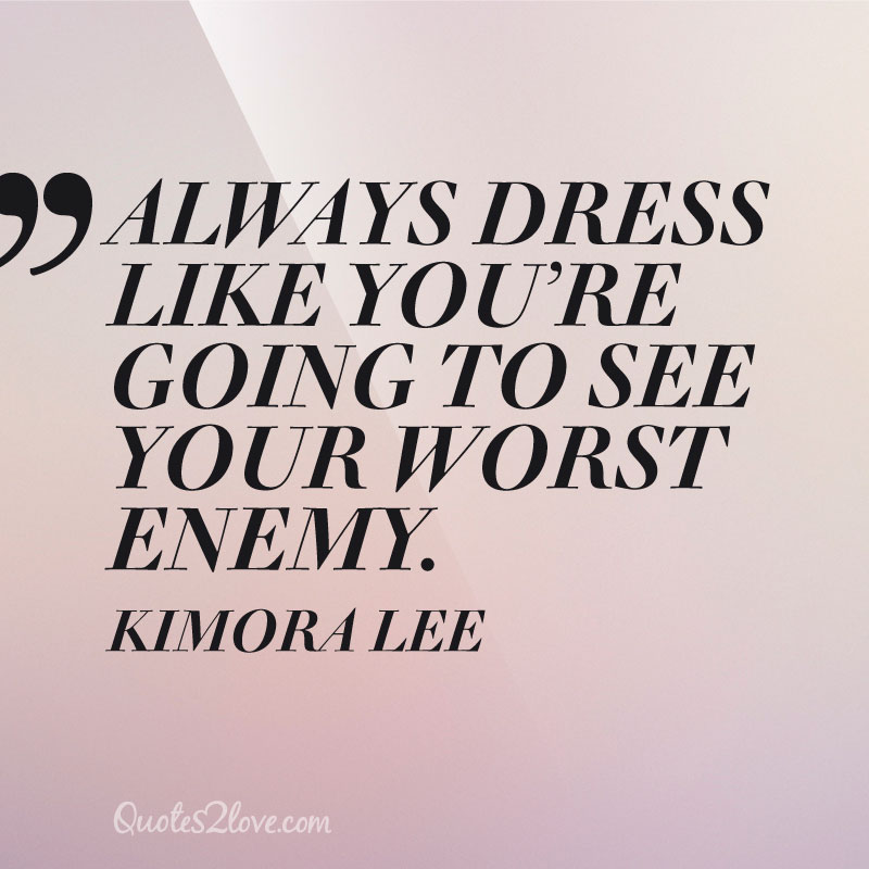 20 Fashion Quotes By The World 39 S Biggest Style Icons