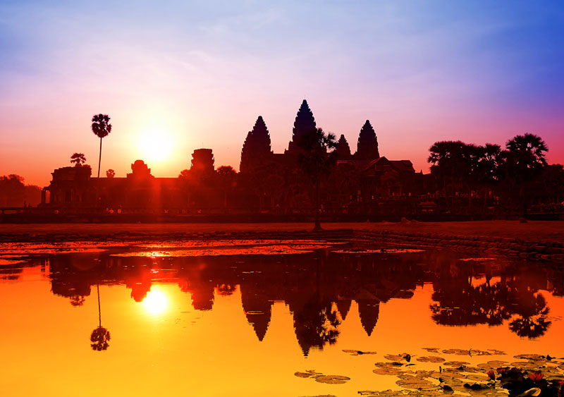 Angkor Watt sunset quotes