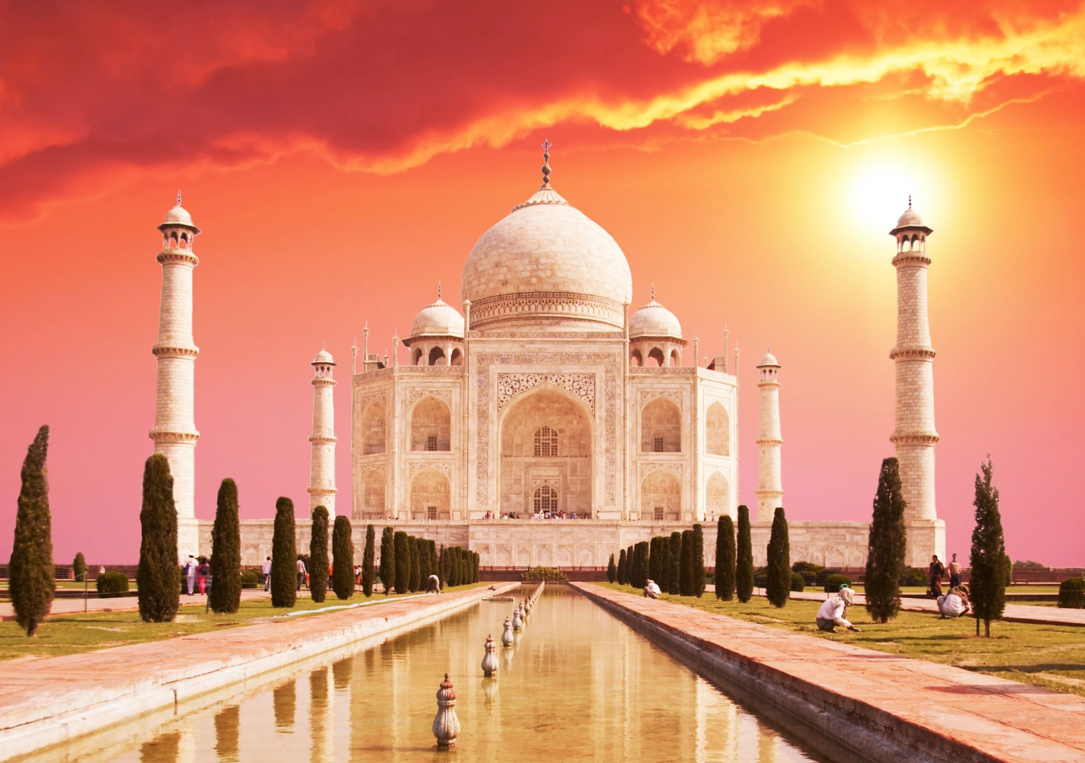 Taj-Mahal sunset quotes