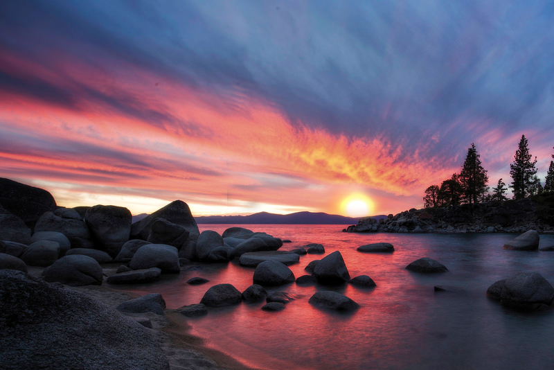 lake tahoe sunset quotes
