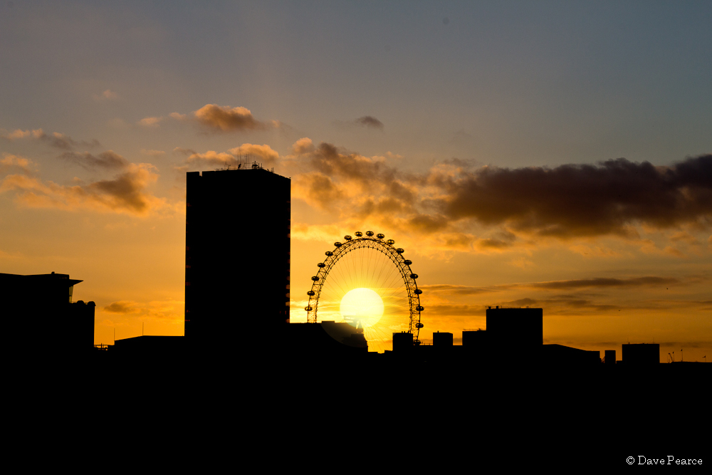 sunset quotes london eye