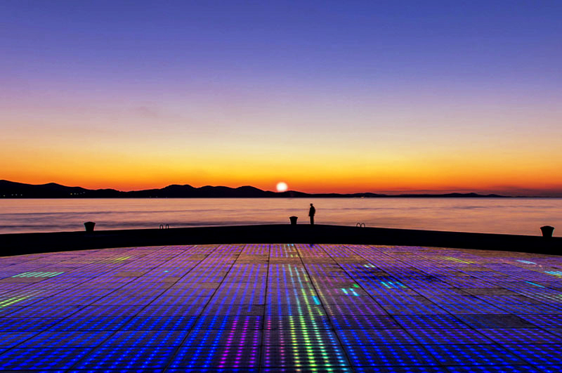 zadar sunset quotes