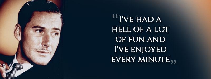 Errol Flynn's last words
