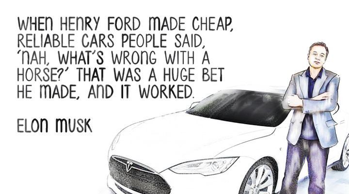 ELON MUSK on Henry Ford