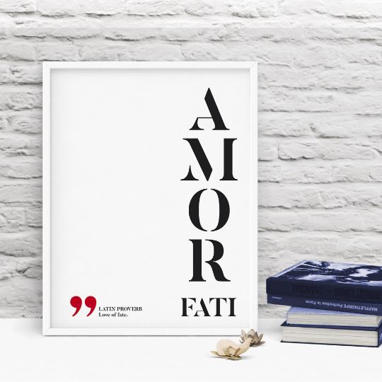 Amor fati - Love of fate